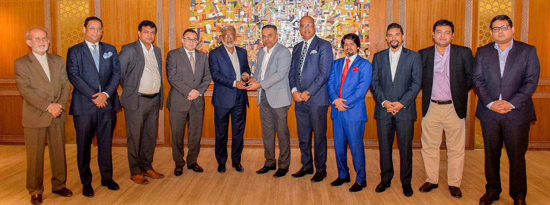Meeting with Executive Chairman of BIDA