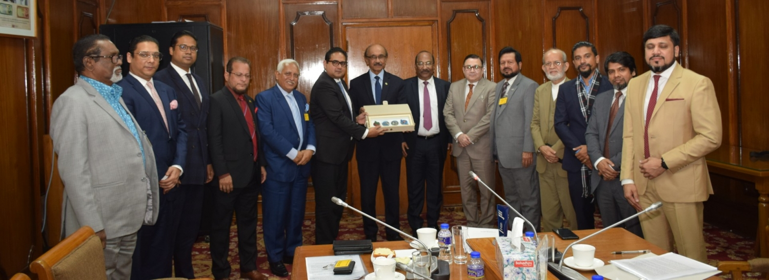 Meeting With Bangladesh Bank Governor