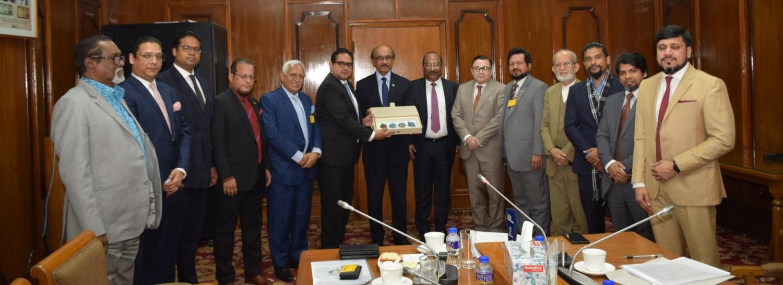 Meeting With Bangladesh Bank Governor