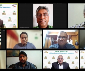 """Virtual Dialogue on """"Building a Sustainable Ecosystem for Ecommerce"""