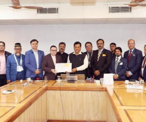 DCCI delegation meets with the Chief Minister of Assam