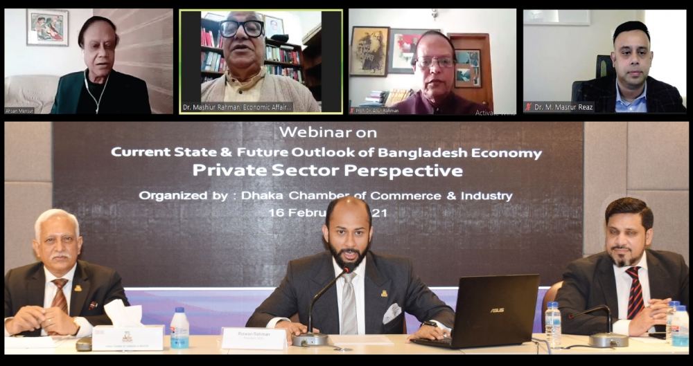 Webinar on current state and future outlook of Bangladesh's economy: private sector perspective