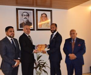 Egyptian Ambassador called on DCCI President