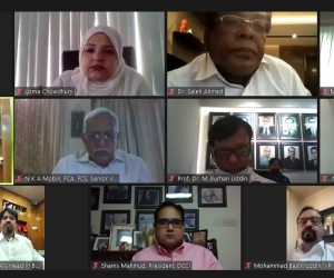 DCCI webinar on food value chain in the Covid time held
