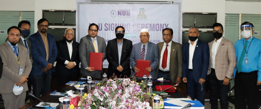 DCCI inked MoU with Northern University Bangladesh