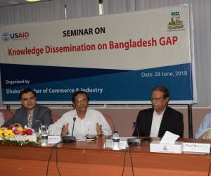 Speakers urged for knowledge dissemination of Bangladesh GAP