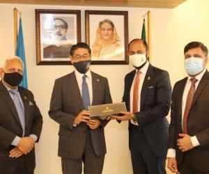 Japanese Ambassador called on DCCI President