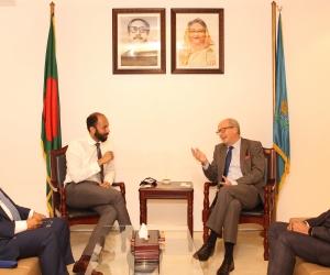 Meeting with Dutch Ambassador